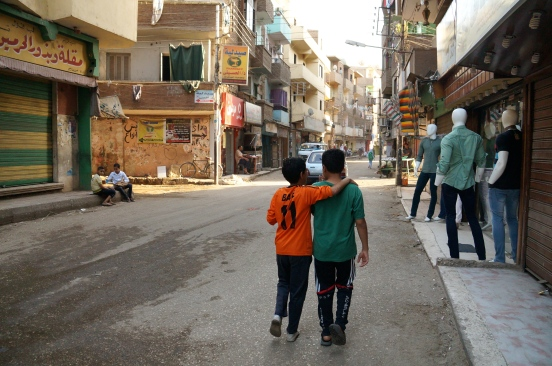 On a side street in Luxor