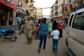Walking down Youssen Hassan Street