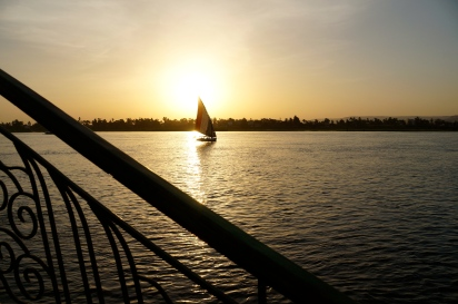 View of the Nile from Steigenberger Nile Palace